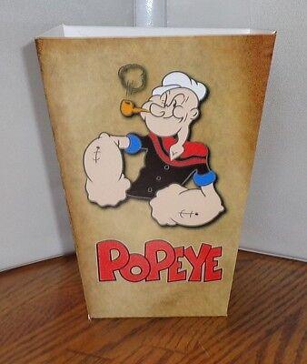 Popeye Olive Oyl Popcorn Box.......free Shipping