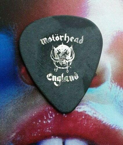 MOTORHEAD Lemmy England silver foil guitar pick