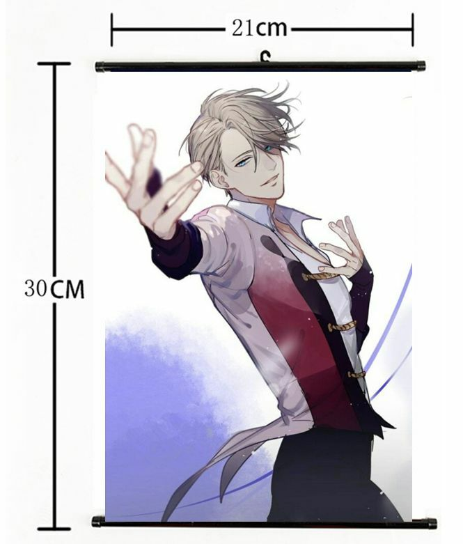 Anime Yuri!!! on Ice Nikiforov Victor  Scroll Home Decor cosplay 1068