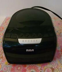 RCA CD Player Clock Radio w/ LED AM/FM radio