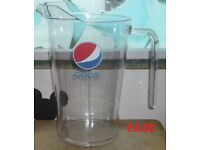 Plastic Pepsi Jug Great for Dining Tables Bars or Just to Keep in Fridge Dinner Party Christmas