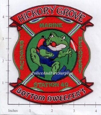 South Carolina - Hickory Grove Station 40 SC Fire Dept Patch