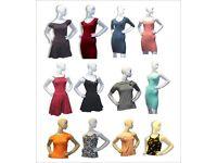 Ladies Tops, Shirts & Dresses - wholesale