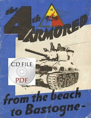 CD File 4th Armored Division Booklet + Newspapers Eight Ball News Turret Topics