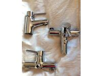 Set of 3 New Mixer Taps for Sale