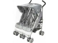 Maclaren Triumph Double Pushchair Raincover