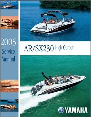 Yamaha AR230 / SX230 Jet Boat / Sport Boat Service Manual CD ---  AR SX 230 HO for sale  Woodstock