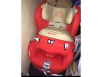 CYBEX sirona rear and forward facing car seat