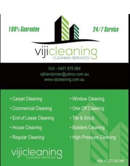 Bond cleaning and builders cleaning