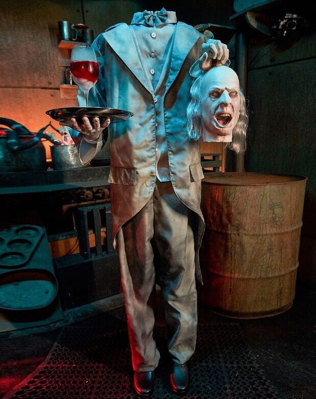 HEADLESS HELP LIFESIZE SPIRIT HALLOWEEN ANIMATRONIC