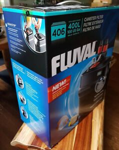 Fluval Canister Filter 406 -  up to 100 Gal Aquarium - 1 yr old