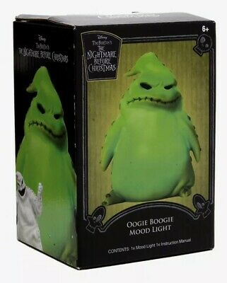 Disney The Nightmare Before Christmas Oogie Boogie LED Desk Light Mood Lamp ()