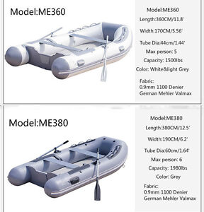 Brand New INNOVOCEAN Aluminum Deck Inflatable Boats For Sale!