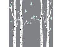 Birch Tree Nursery wall stickers