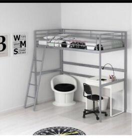 Loft bed (Ikea) mattress NOT included