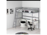 Loft bed (Ikea) mattress NOT included