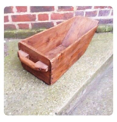 Antique Early 20th Century Edwardian Grain Trough Feed Feeder Draw