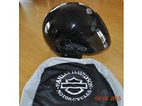 Genuine Harley Davidson Jet Black Helmet