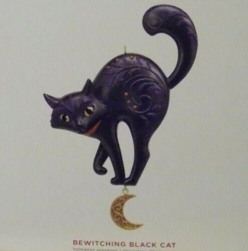 2019 Hallmark Ornament  BEWITCHING BLACK CAT - MINT IN MINT BOX