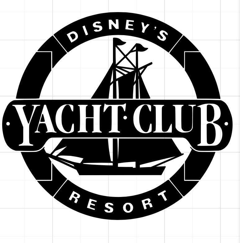 Disney Vacation Club Yacht Club Resort Decal DVC Disney World U PICK COLOR
