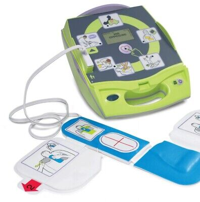 New Zoll Aed Plus Automated External Defibrillator Pn 8000-004000-01
