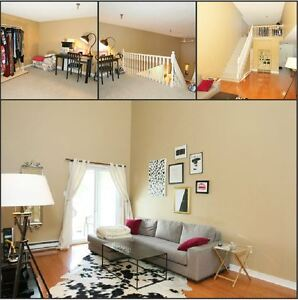 Beautiful top flr condo with open flr/plan,lofted 2nd/BR$165,000