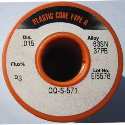 Alpha Metals Flux (Alpha Metals Solder / Plastic Rosin Flux / Sn63 Pb37 / .015