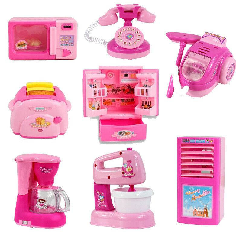 Kids Pretend Play Home Appliances Kitchen Developmental Educ