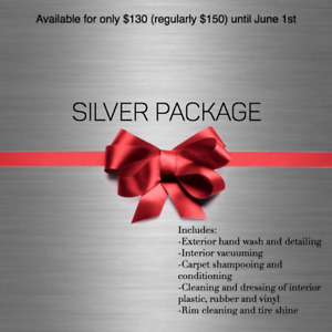 *LIMITED TIME OFFER* $130 SILVER PACKAGE AUTO DETAILING