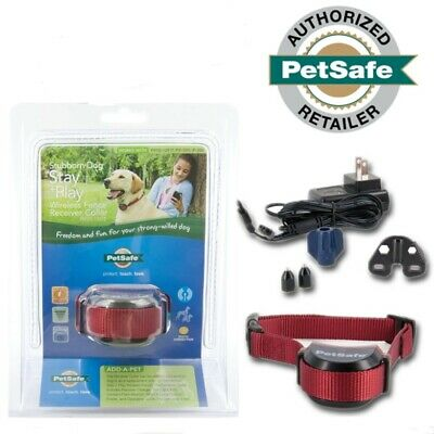 PetSafe Stubborn Wireless Dog Fence Collar Rechargeable for