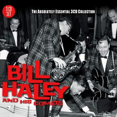 BILL HALEY & COMETS * 60 Greatest Hits* Import 3-CD BOX SET * Orig Songs *NEW for sale  Shipping to India