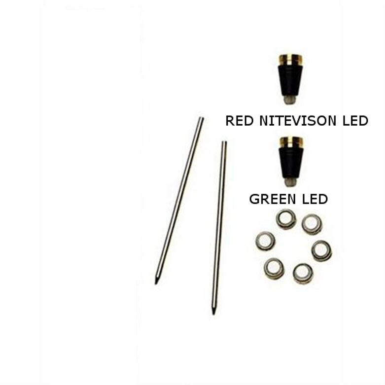 Police-Fire-Rescue Nite Writer Acc. Kit # 2 Grn/red Led