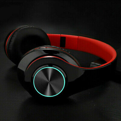 Wireless 3.5mm Gaming Headset LED Headphones Stereo Over Ear For PC PS4 Xbox ONE