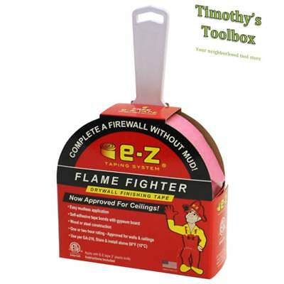 E-z Drywall Flame Fighter Mudless Fire Tape For Wallsceilings 250-ft W Knife