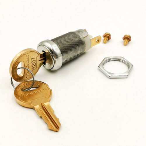 Screw Terminal Off-On 1 Keypull Key Switch Lock, Keyed-alike