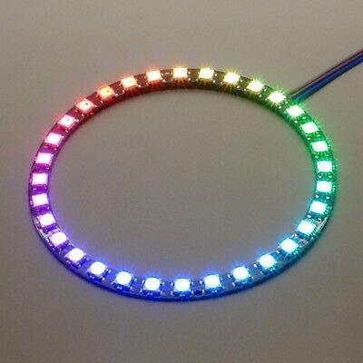 NeoPixel Ring mit 32 WS2812 5050 RGB LEDs LED Raspberry Arduino