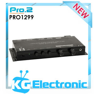 Pro2 PRO1299 3 Source Audio Power Amplifier With Built-in DAC Speaker Protection