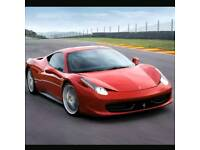 Win a supercar experience