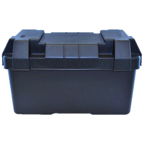 Car Parts - BATTERY BOX - EXTRA LARGE CARAVAN CAR BOAT CAMPERVAN TRAILER 4X4 4WD RV PARTS