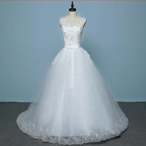 Robe de mariée neuve - Taille 2