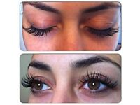 MINK semi-permanent Eyelash Extensions £45!!