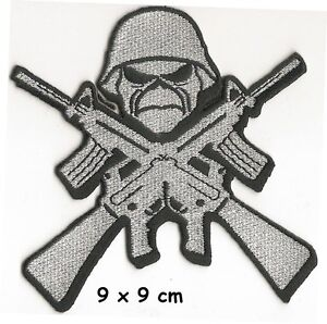 IRON-MAIDEN-guns-patch-FREE-SHIPPING