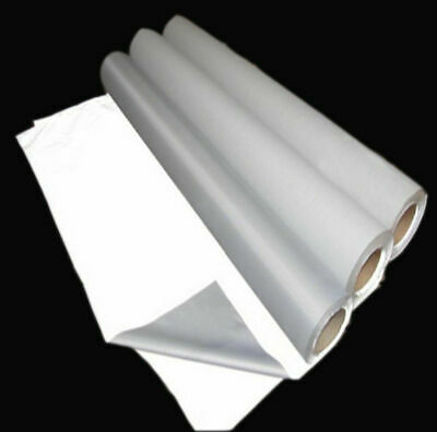 Silver Reflective Fabric Sew Silver On Material 3x39 1mx1m