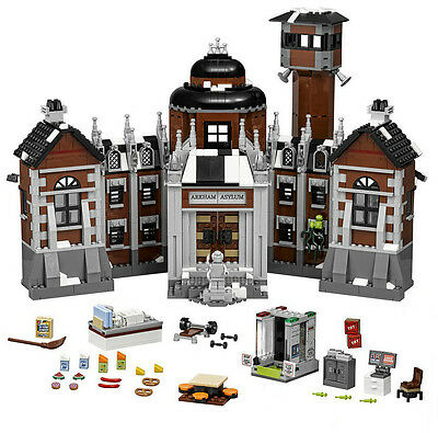 Incomplete Lego Batman Movie Arkham Asylum Set 70912 No Minifigs Car Jail Only