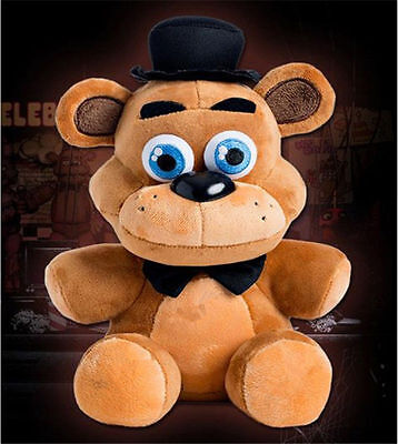 "10"" Hot FNAF Five Nights at Freddy's Plush Doll Toy Sanshee Freddy Plushie Bear"