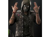 Watch Dogs 2 Wrench Black Leather Vest