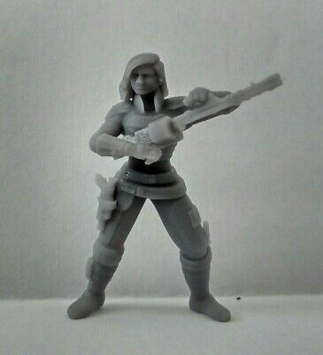 Star Wars Legion Cara Dune The Mandalorian custom HQ 3D printed miniature