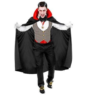 WIM 01683 Herren Kostüm Vampir Dracula Blutsauger Halloween Karneval M L XL XXL