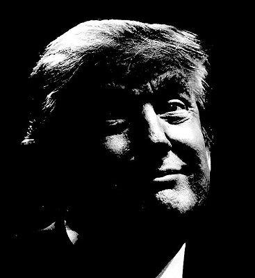 Donald Trump Silhouette Sticker Trump for President 2016