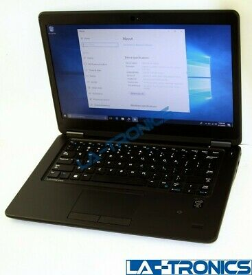 "Dell Latitude 14"" FHD E7450 i5-5300 2.3GHz 8GB 256 SSD Windows 10 Pro"